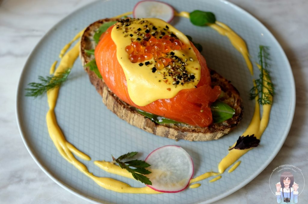 Egg mikado (320 บาท)