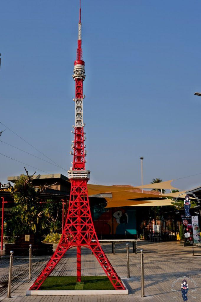มุมหอคอยโตเกียวทาวเวอร์จำลอง
