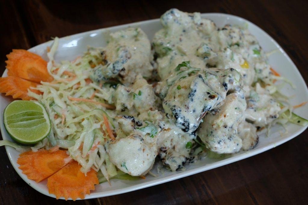 Chicken Malai ไก่ย่างเม็ดมะม่วงหิมพานต์ 260 บาท