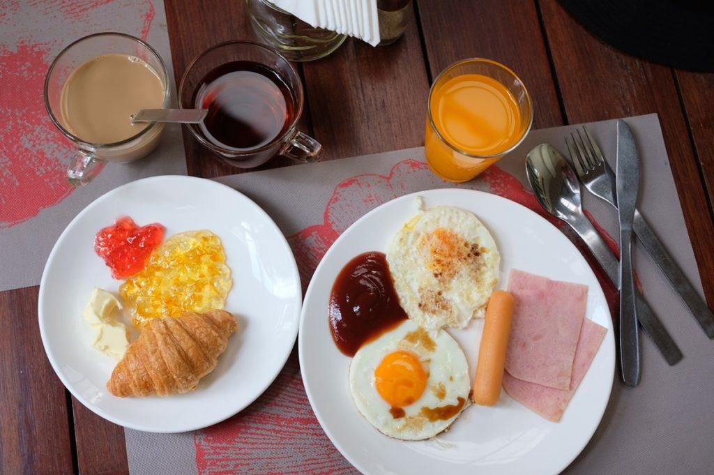 เมนูอาหารเช้าที่แหม่มเลือกมาค่ะ