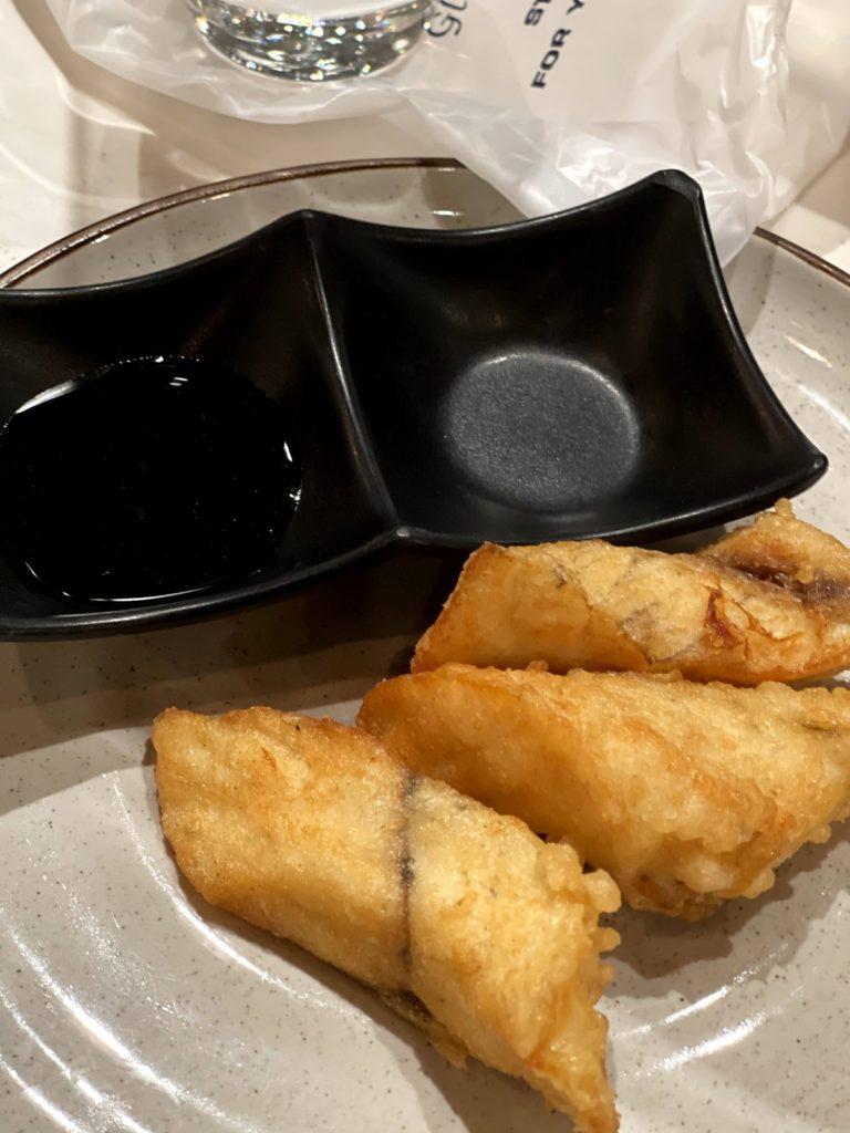 ปลากะพงทอดราดน้ำปลา Deep-Fried Seabass Topping with Fish Sauce